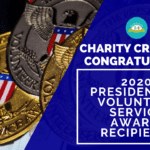 Congrats to 2020 Presidential Volunteer Service Award Recipients