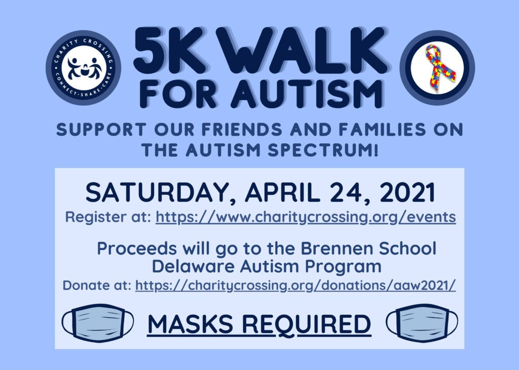 Autism 5K Walk flyer