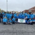 Community giveaway at Middletown, Delaware on April 10th 2021